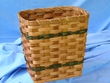 Handmade Amish Basket 8x11x11  -Rectangle  (EM4)