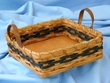Handmade Amish Basket 9x9 -Square Basket  (EM17)