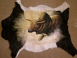 Painted Hide 31x29 -Rodeo Bull  (22)