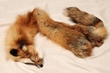 Genuine Red Fox Fur Pelt 44""