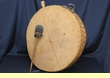 Old Tarahumara Indian Ceremonial Drum  18x2.5