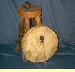 "Tarahumara Hoop Drum - 20"" Native American drum"