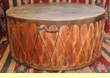"Indian Powwow Drum -Cedar 42""x18"" -Damage Clearance"