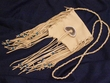 "Yacqui Indian Tobacco Medicine Bag - 5""x5"" Antler"
