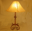 "Western Lamps of Wrought Iron 30"" -Sedona"