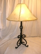 Southwestern Wrought Iron Table Lamp - Cave Creek