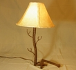 "Western Wrought Iron Table Lamp 24"" - Black Canyon -CLEARANCE"
