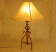 "Wrought Iron Southwestern Table Lamp 30"" -Canyon"