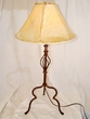 "Southwestern Iron Table Lamp 32.5"" -CLEARANCE  (TL4)"