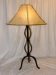 "Wrought Iron Table Lamp 32"" -CLEARANCE  (TL10)"
