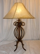 "Southwestern Wrought Iron Table Lamp 30"" (TL13)"