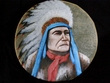 "Native American Style Painted Drum 16"" -Chief  (pd38)"