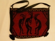 "Southwest Kokopelli Flat Bottom Acrylic Purse 14""x11""  (41)"