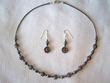 "Native American Navajo Jewelry -Necklace & Earring Set 17"" (139)"