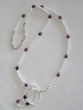 "Native American Indian Jewelry -Tigua Necklace 25"" (109)"