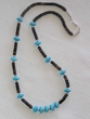 "Native American Indian Jewelry -Tigua Necklace 23"" (115)"