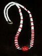 "American Indian Jewelry -22"" Coral Nugget Necklace (11)"