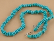 "American Indian Beaded Necklace 25"" -Navajo  (66)"