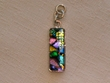 Sterling Silver Jewelry - Dichroic Glass Pendant  (125)