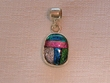 Sterling Silver Jewelry - Dichroic Glass Pendant  (134)
