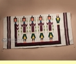Woven Wool Zapotec Indian Wall Hanging 30x60 -Yeis  (w33)