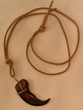 "American Indian Bear Claw Necklace 27"" -Navajo"