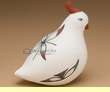 "Southwest Tigua Indian Pottery -Desert Quail 4"" (z)"