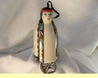 Native American Pottery Tigua Wind Chime -Maiden  (107)