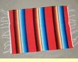 Southwest Serape Place Mat -Red