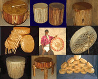 Moving Sounds of Native American Indian Drums