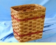 Handmade Amish Basket 8x11x11  -Rectangle  (EM3)