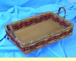 Handmade Amish Basket 10x14 -Cake Pan Basket  (EM11)