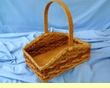 Handmade Amish Basket -Large Herb Basket  (EM29)