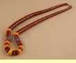"Native American Beaded Necklace 19.5""  (142)"