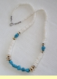 "Native American Indian Jewelry -Tigua Necklace 23"" (119)"