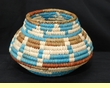 "Pueblo Indian Style Olla Basket 6"" (a32)"