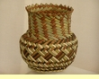 "Hand Woven Tarahumara Indian Basket 7""x7"" ( r )"