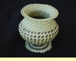 Hand Woven Tarahumara Indian Basket  4x4  (65)