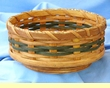 "Handmade Amish Basket 8"" -Lazy Susan Basket  (EM23)"