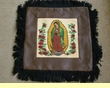 Rustic Virgin of Guadalupe Pillow Cover 18x18