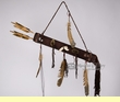 Native American Beaded Spirit Quiver & Arrows