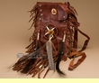 Native American Medicine Bag 6x10  -Tigua  (b97)