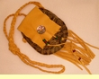 "Native American Turtle Shell Medicine Bag 5""  -Shoshone (35)"