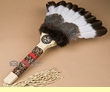 "American Indian Pow Wow Dance Fan 22"" -Creek  (f82)"