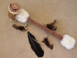 Native Tarahumara Indian Drum Rattle  -Lizard  (84)