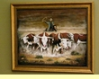 Western Cowboy & Indian Art Paintings