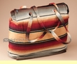 Large Flat Bottom Serape Purse  (p34)