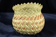 Hand Woven Tarahumara Indian Basket  5x4.5  (60)