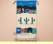 Wool Zapotec Wall Hanging 15x30 -Pueblo  (31)