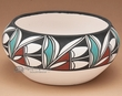 Native American Pueblo Pottery Bowl 7x2.5  (109)